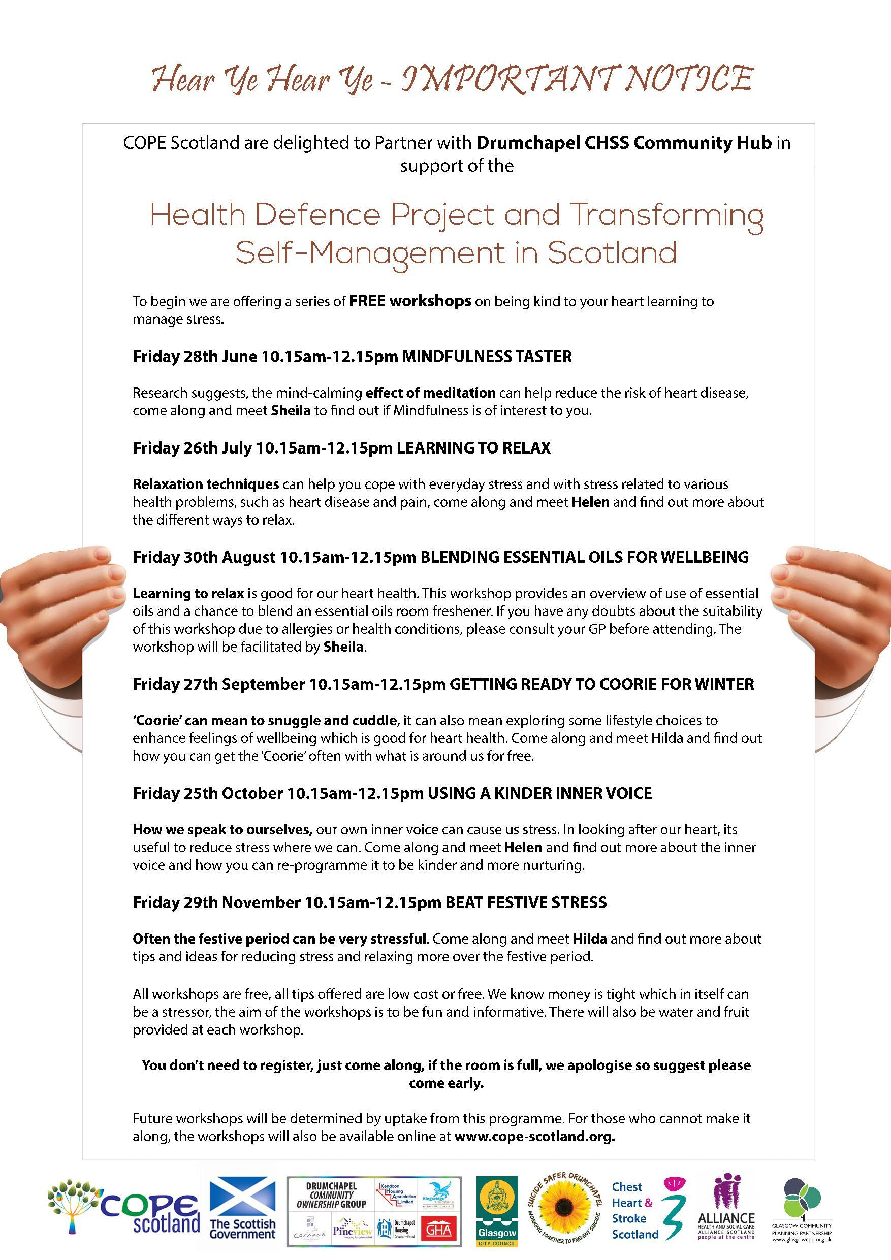 CHSS Health Defence Programme